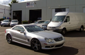 San Deigo Mercedes Repair & Maintainence