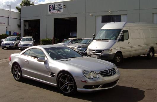 San Deigo Mercedes Repair & Maintainence